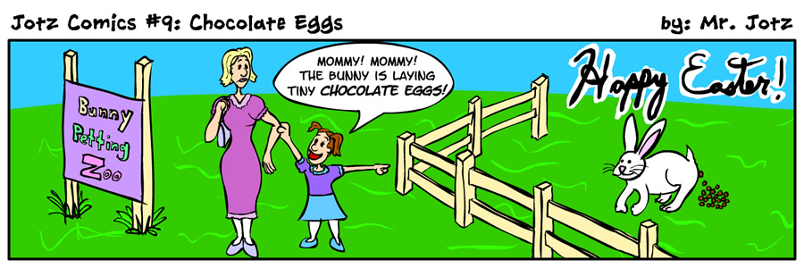 #9: Chocolate Eggs