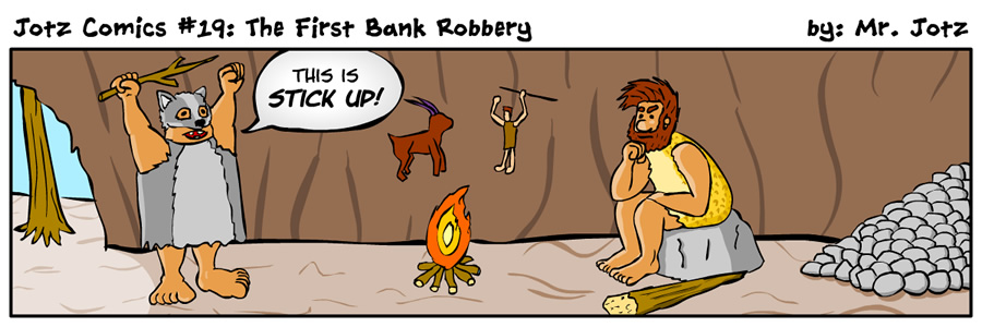 #19: The First Bank Robbery