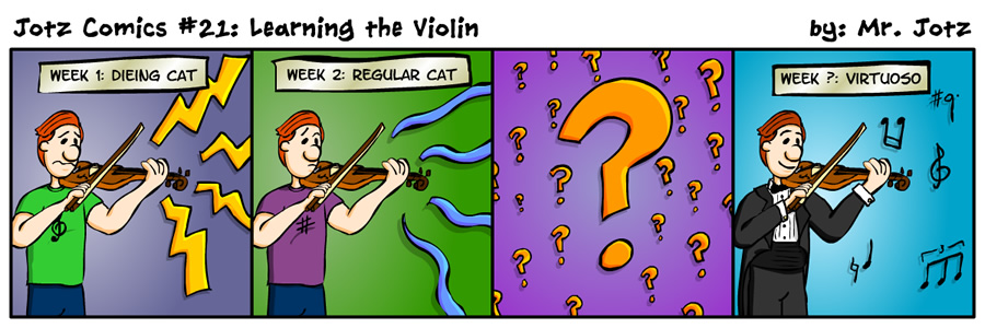 #21: Learning the Violin