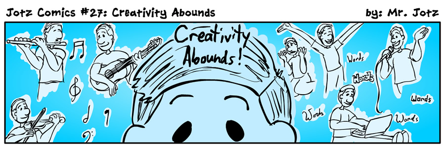 #27: Creativity Abounds