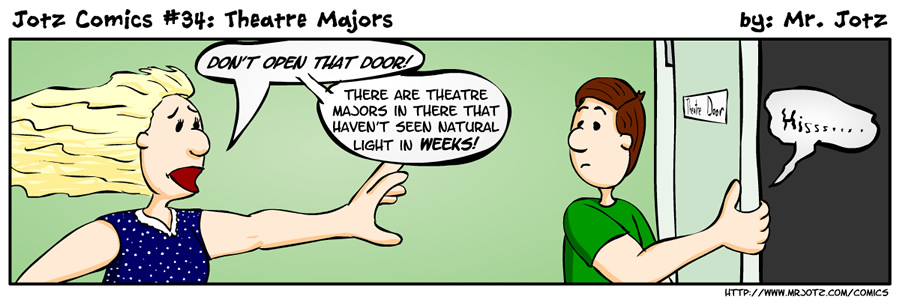 #34: Theatre Majors